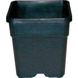 Vaso quadrato 36 5x36 5x36 30 litri vasi e serre vasi for Vasi in plastica grandi